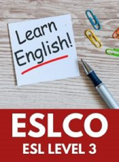 ESLCO, Level 3 English as a Second Language