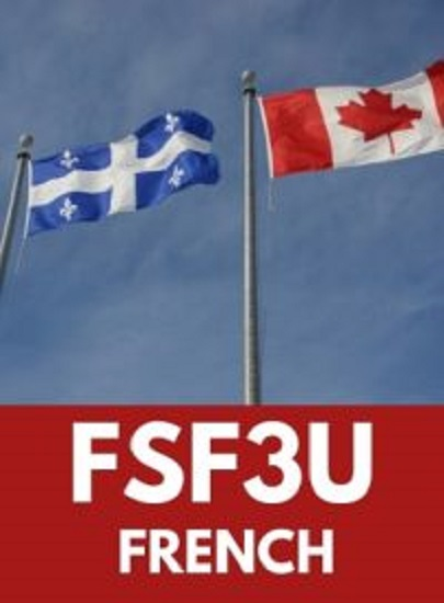 FSF3U, Grade 11 Core French (University)