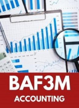 BAF3M, Grade 11 Financial Accounting Fundamentals (Open)
