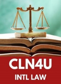CLN4U, Grade 12 Canadian and International Law (University)