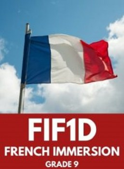 FIF1D, Grade 9 French Immersion (Academic)