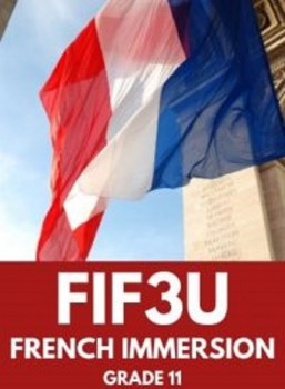 FIF3U, Grade 11 French Immersion (University)