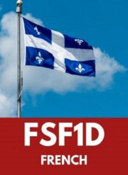 FSF1D, Grade 9 Core French (Academic)