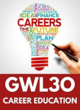 GWL3O, Grade 11 Designing Your Future Career (Open)