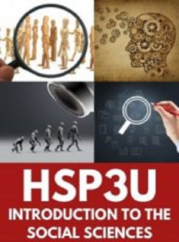 HSP3U, Grade 11 Intro to Anthropology, Psychology & Sociology (University)