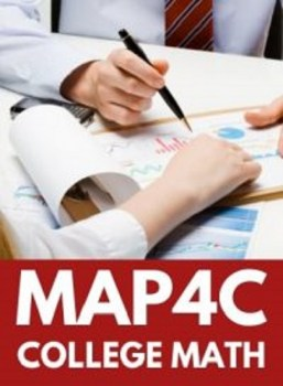 MAP4C, Grade 12 Foundations for College Mathematics  (College)