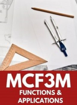 MCF3M, Grade 11 Functions and Applications (Mixed)