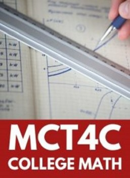MCT4C, Grade 12 Mathematics for College Technology (College)