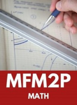 MFM2P, Grade 10 Foundations of Mathematics (Applied)