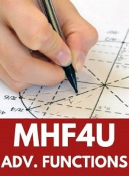 MHF4U, Grade 12 Advanced Functions (University)
