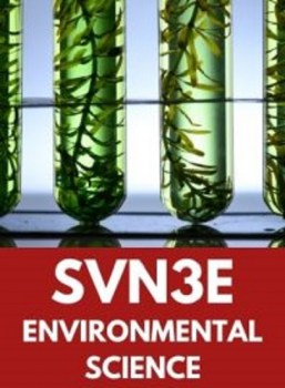 SVN3E, Grade 11 Environmental Science